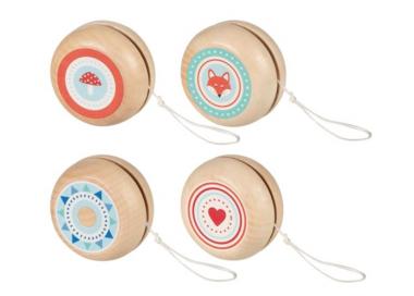 Yo-yo de Tonos Pastel Madera