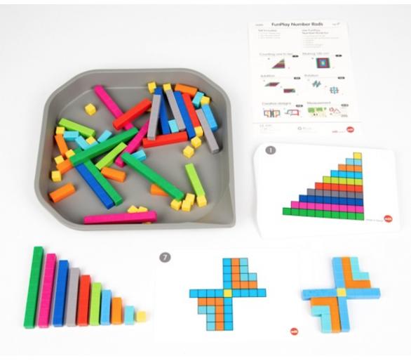 Regletas Matemáticas Hacer Figuras