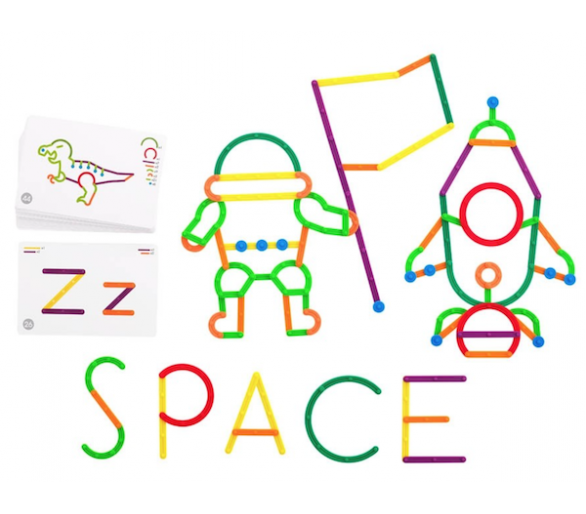 Juguete Educativo para aprender las letras y hacer figuras