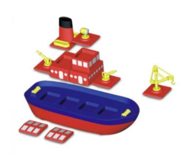 Construir un barco con imanes súper divertido