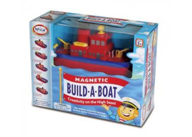 Construcción Barcos Magnéticos Juguete Educativo