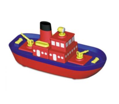 Juguete educativo para construir un barco magnético