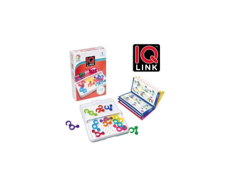 Juego Lógica IQ Link STEAM Juguete Educativo