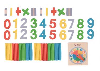 Juego Educativo de Madera Aprender Matemáticas