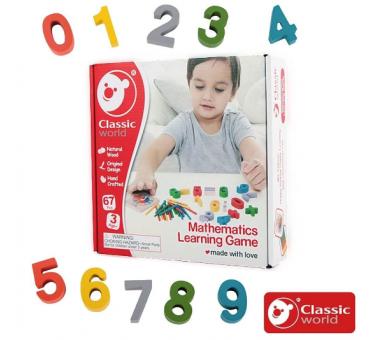 Juguete de Madera Educativo para Aprender Matemáticas