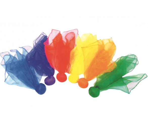 Pañuelo con Bola de Colores para la Cesta de los Tesoros