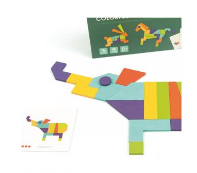 Juguete Educativo para hacer Construcciones y Figuras