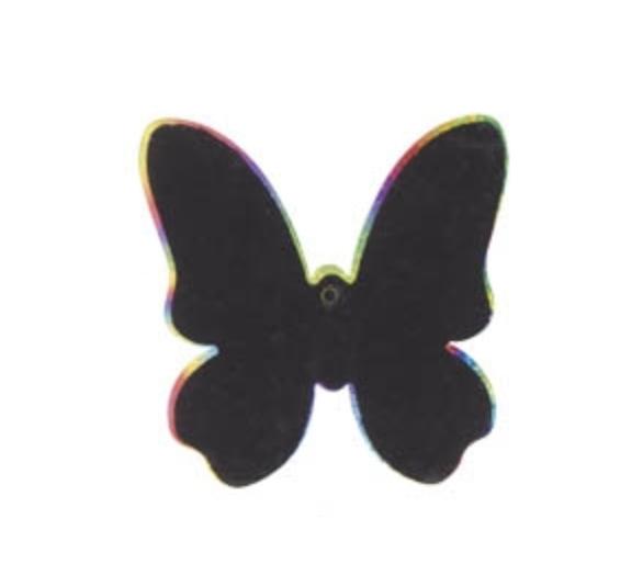 6 Láminas para Rascar Mariposa +3