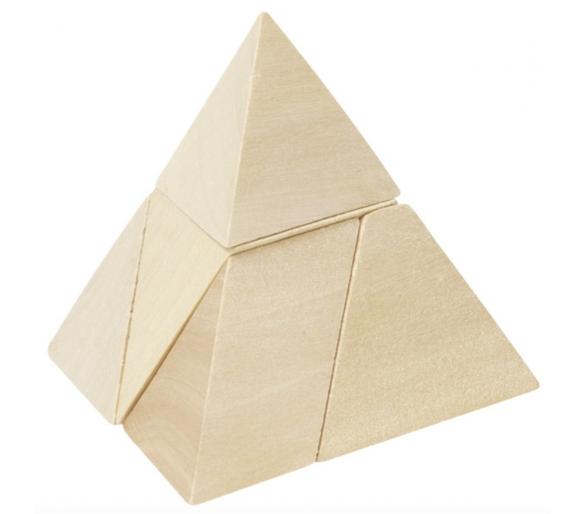 Juego de Habilidad Pirámide de madera para jugar sin pantallas