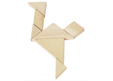 Juego de Habilidad Tangram para llevar siempre encima y jugar