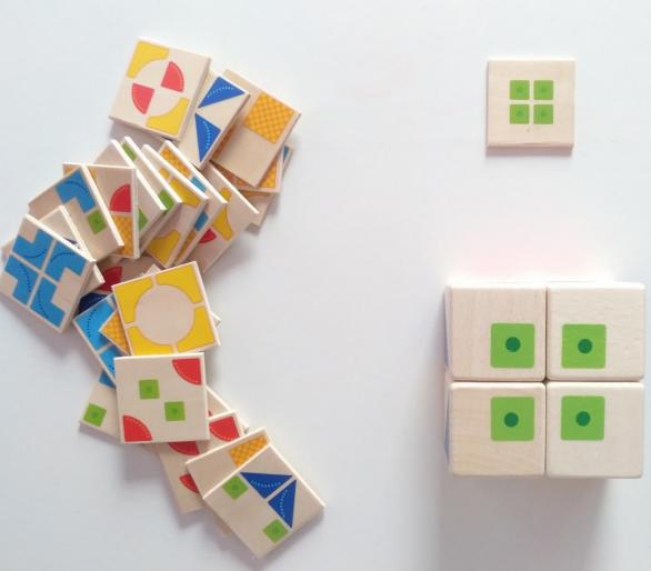 Juguete Educativo de Puzzle Kubus para jugar con los amigos