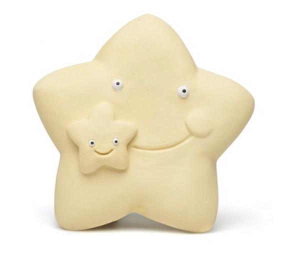 Estrella Beige Caucho para Bebés