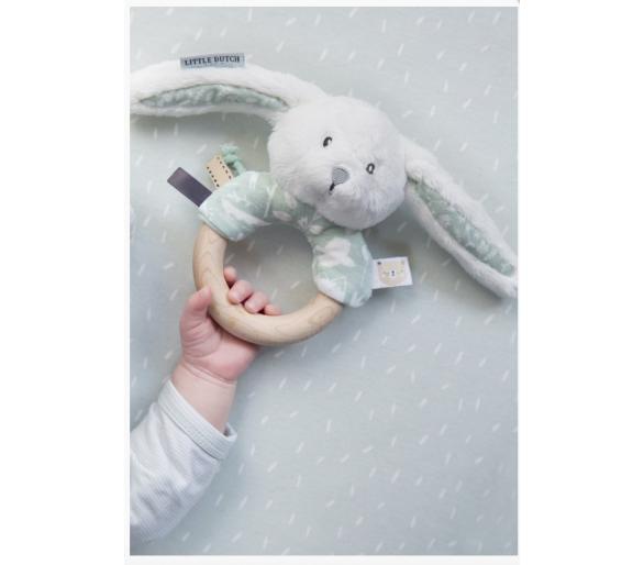 Sonajero Conejito Cascabel Nórdico para regalar a los bebés