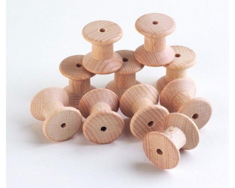Carrete de madera para el Juego Heurístico