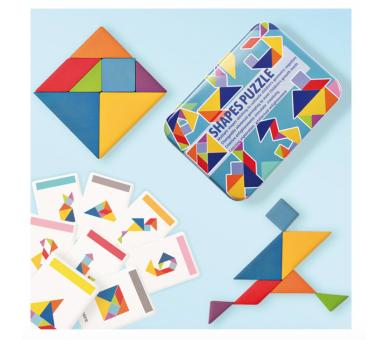 Juguete Educativo Tangram para llevar a cualquier sitio con la bolsita YupiBag