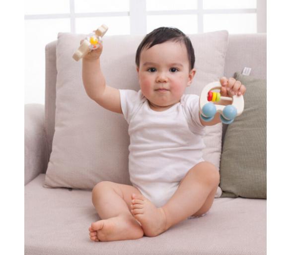 Sonajero Elefante Coche Arco Iris ideal primer regalo para bebés