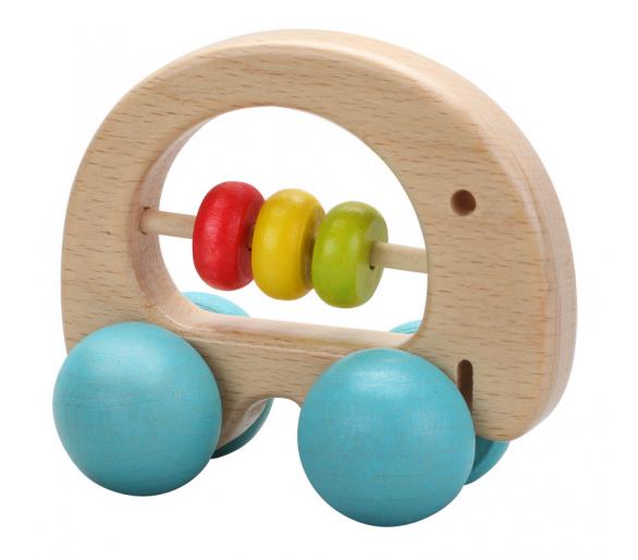 Sonajero Elefante Coche Arco Iris para bebés