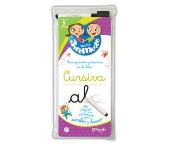 Abremente Para Escribir y Borrar: Cursiva +5