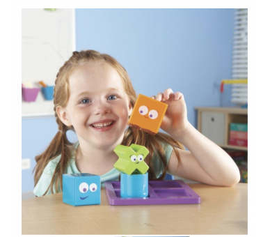 Juguete Educativo STEAM Lógica Mental BLOX Junior de Learning Resources