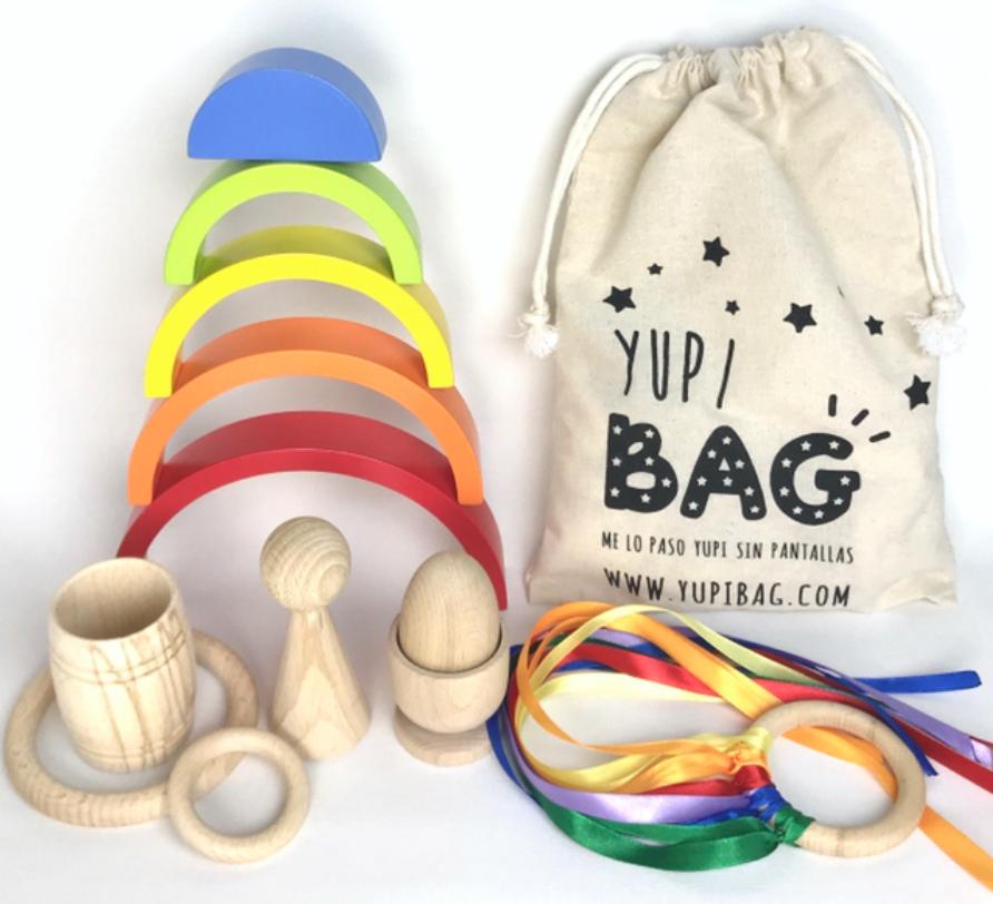 Sobre YupiBag, bolsilas con juguetes educativos cómo alternativas a las pantallas